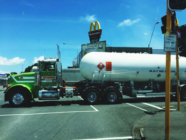Mcdonalds Truck New Zealand Trucks Trucking Street Streetphotography New Plymouth
