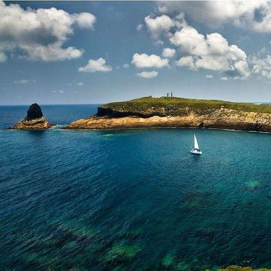 Panorámica Two 2 Calas Playas SPAIN Xavia Javea Altea Costablanca Mediterraneo Mar Velero Isletas Nice Cute