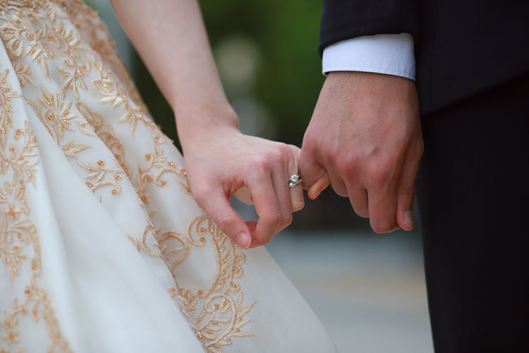 Better together Adult Bride Bridegroom Celebration Couple - Relationship Emotion Event Finger Hand Human Hand Husband Jewelry Life Events Love Married Newlywed Positive Emotion Ring Togetherness Two People Wedding Wedding Ceremony Wife Women