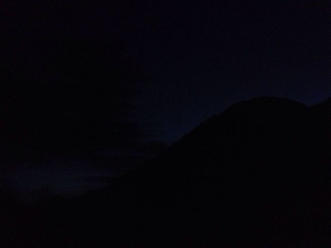 Silhouette Dark Night Nature No People Sky Tranquil Scene Tranquility Beauty In Nature Scenics Low Angle View Outdoors
