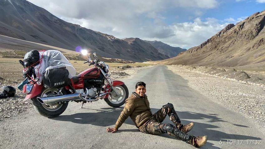 Let's Go. Together. Motorcycle Biker Riding Adventure Outdoors Mountain Leh Ladakh India Leh Leh Ladakh Travel Photography EyeEm Selects