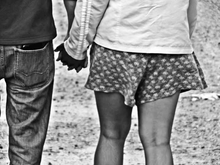 Holding Hands Couple Holding Hands Taking A Walk Hand In Hand Walking Together Black And White Blackandwhite Photography Perspective Photography Natural Beauty Two Is Better Than One Enjoy The New Normal The Street Photographer - 2017 EyeEm Awards The Portraitist - 2017 EyeEm Awards