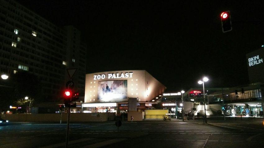 Zoo Palast Movie Theater. · Berlin Germany 030 Kino Theater MOVIE Urban Landscape Cityscape Architecture City Lights Night Lights Night Photography