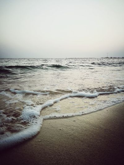 Where you can be in peace .. Sunset_collection Silence Of Nature Music Of Waves Time To Remember Sea Beach Horizon Over Water Nature Beauty In Nature Sunset Scenics Water Landscape Tranquility Wave