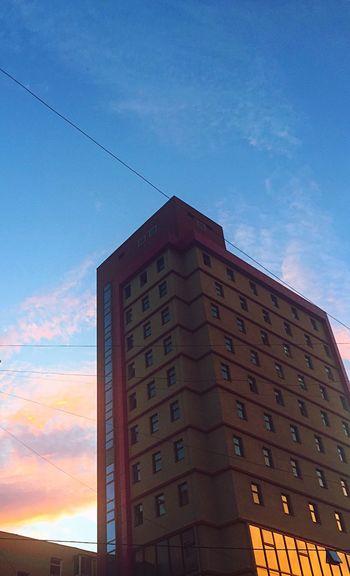 Pink Sky Built