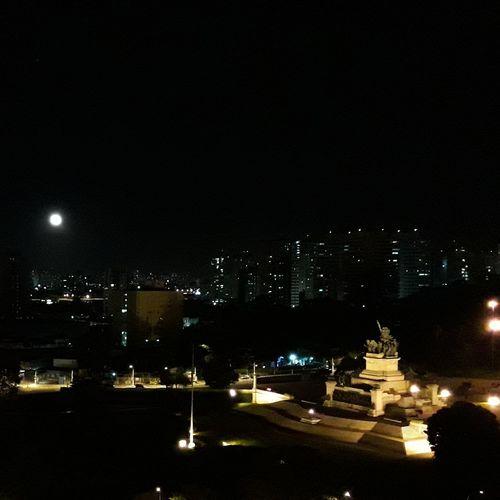 Night Illuminated City Cityscape Outdoors Moonlight Moon Lua  Noite Cidade Ipiranga SP Celo_teixeira Brazil