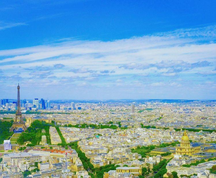 Paris, 04-08-17 Kodak Kodakpixpro Kodak Pixpro Paris Paris, France  Paris ❤ Paris Je T Aime Tour Eiffel Tour Eiffel, Paris. Invalides  France France 🇫🇷 France🇫🇷 EyeEmNewHere Cityscape Sea Blue Beach Aerial View Water Sky Horizon Over Water Close-up