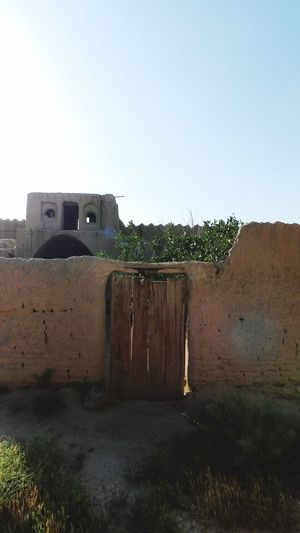 Ancient City Minimal Old Wall Old Door Desert Beauty Hello World Ancient Architecture Iranan Architecture Asian Culture