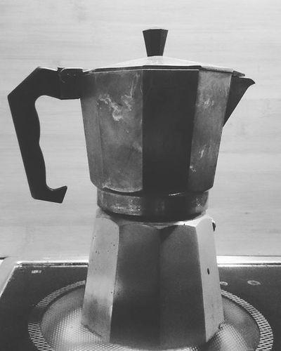 Nighttime Coffee Yummy Coffeetime ☕ Blackandwhite Moccamaster