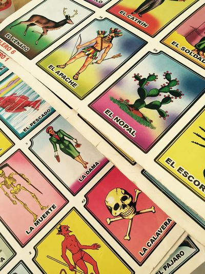 Mexico Lets Play Loteria
