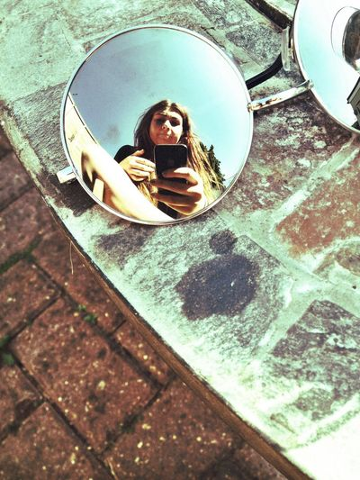 Reflection Sunnies Girl Summer