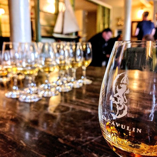 Lagavulin Whisky Islay Scotland 💕 Focus On Foreground