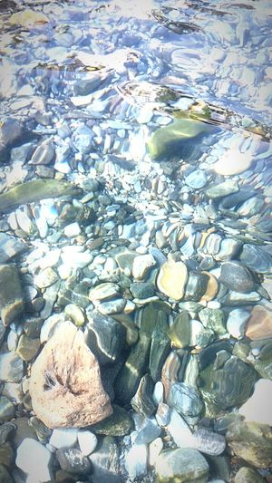 Stones & Water sea Summertime Relaxing Taking Photos Beach Photography Blue Waves