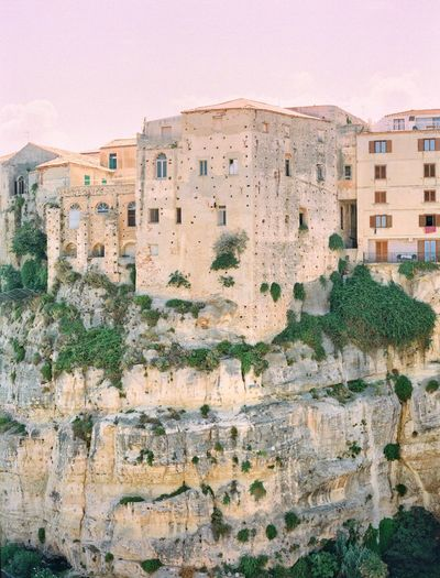 Tropea Calabria Italy Filmphotography Travel Destinations Built Structure Architecture Building Exterior Building No People Nature Residential District Wall History Day The Past Wall - Building Feature Outdoors Ancient