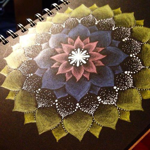 YohkoAmaterraArt My Drawing Mandala Mandalas Art ArtWork Create