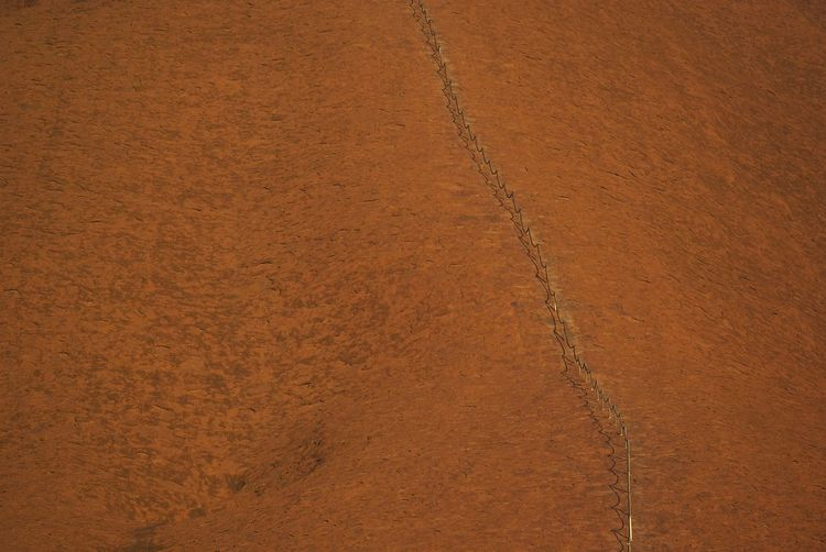 Full Frame Backgrounds Brown Textured  No People Close-up Pattern Land Day Nature Outdoors Sport Dirt Environment High Angle View Copy Space Abstract Rough Textured Effect Leather Uluru Central Australia