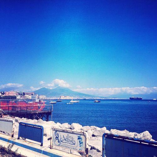 Naples Italy Summer Vesuvio Golfodinapoli Amazing Sea Mediterranean  Nature Beauty