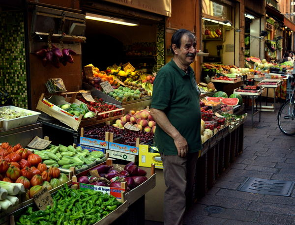 Adult Adults Only Day Food Freshness Groceries Market Men Mid Adult Mid Adult Men Occupation One Man Only One Mid Adult Man Only One Person Only Men Outdoors People Retail  Smiling Standing Supermarket Working Florence Italy Italytrip Italy❤️ Your Ticket To Europe Investing In Quality Of Life
