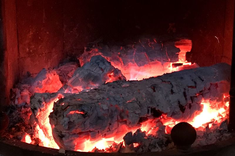 Burning Flame Heat - Temperature Fire No People