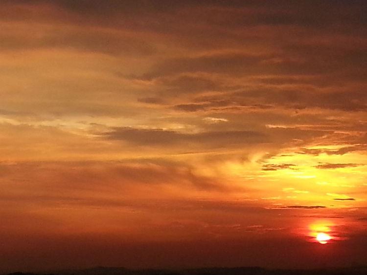 Sunset 090514 Cloud And Sky Sky Sunset Sun!
