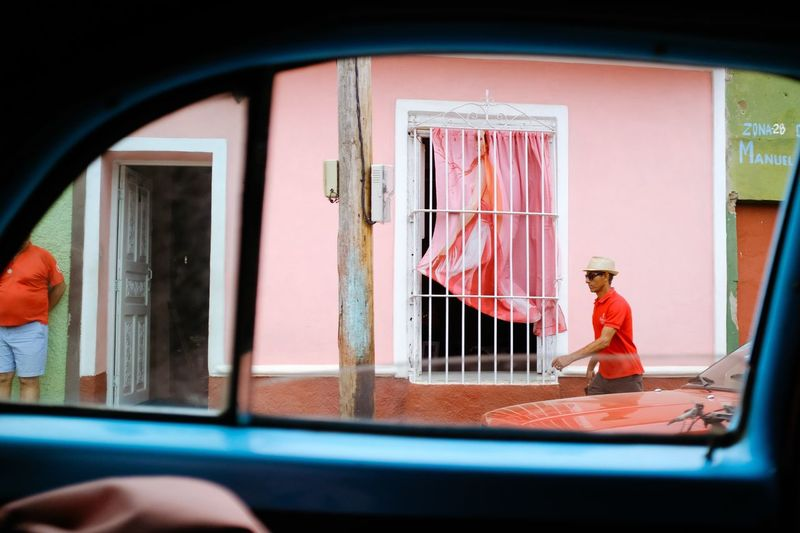 Cuba Real People One Person Window Day Men Architecture Indoors  People