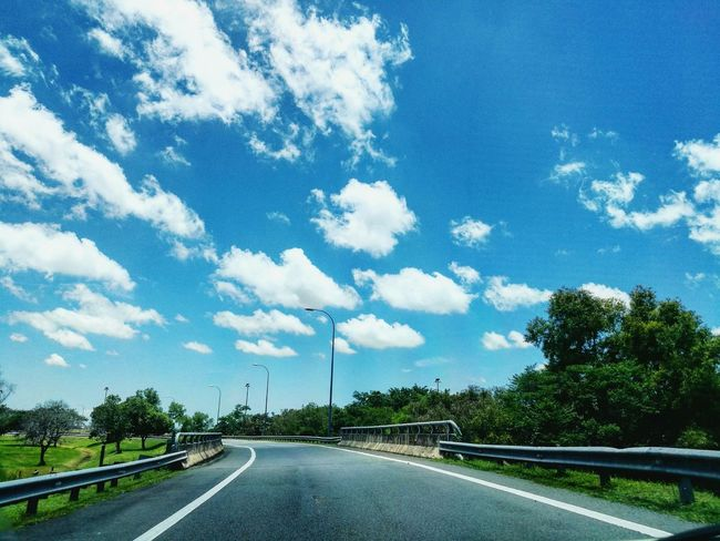 My Year My View Road The Way Forward Highway Cloud - Sky Sky Nature Outdoors Picoftheday Photography Beauty In Nature Tgif_nature Scenery Shortgetaway Day Nature Blue Sky Landscape