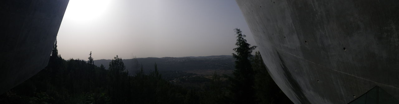 Looking To The Other Side Yad Vashem Jerusalem Memorial Architecture Holocaust Memorial Jewishmemorial Memory Panoramic Sky