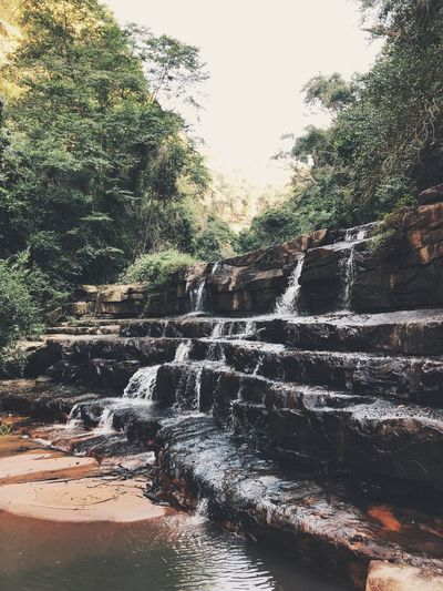 Waterfall EyeEm Gallery EyeEm Best Shots EyeEm Nature Lover EyeEmNewHere EyeEm Gallery Water Tree Nature Plant No People Day Sky Motion Beauty In Nature Tranquility Flowing Water Scenics - Nature Splashing Land Wet Outdoors Drop Sea Sunlight Rain