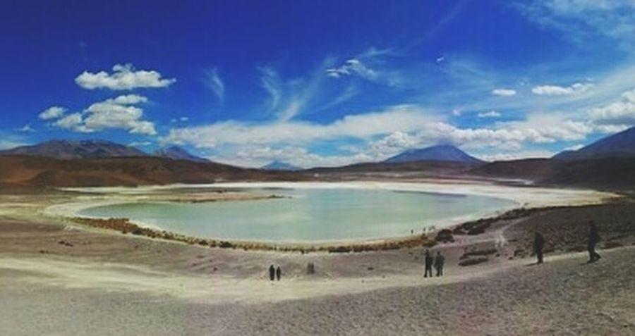 Laguna Blanca, Bolivia Southamerica Travel Bolivia Uyuni Backpacker Laguna Blanca Lagunablanca Atacama Desert First Eyeem Photo
