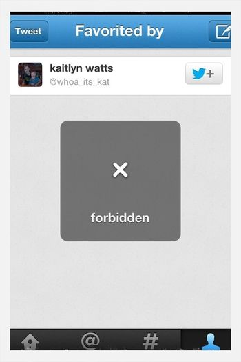 Cant Follow Myself