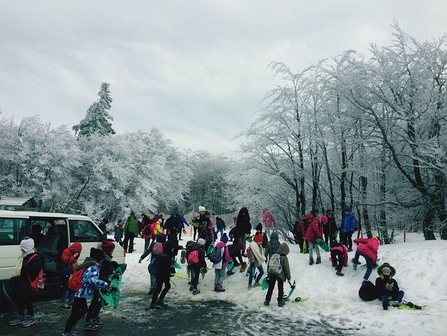 Childrens Class Vacation Snow Snow Day