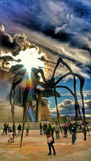 Guggenheim Bilbao Museum Bilbao My City Spider BasqueCountry Eyem Bestsellers EyEm Bestseller