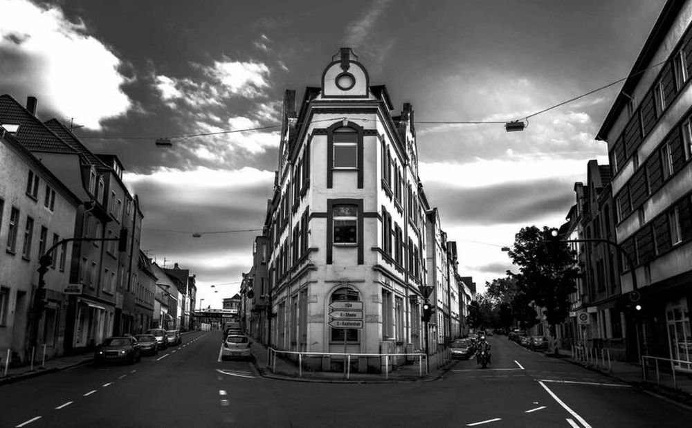 Essen Kray Architektur Fassade Straßen sw