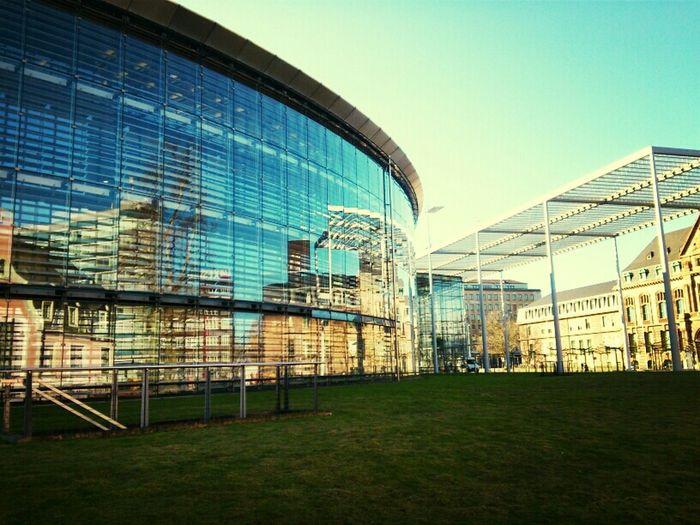 Reflection Urban Reflections Bayerwerk Leverkusen
