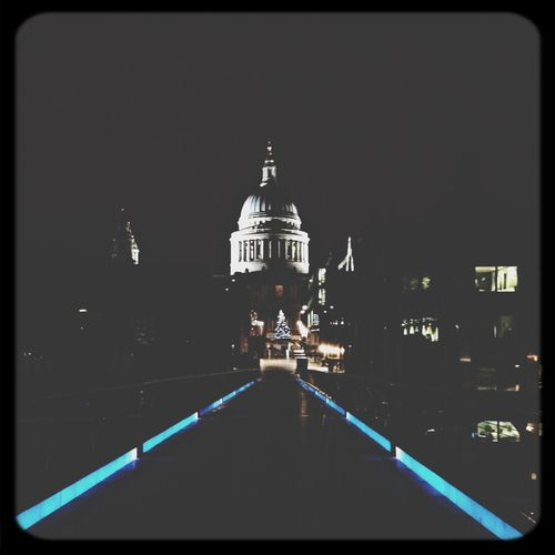 St Paul's Cathedral London Nighttime Architecture