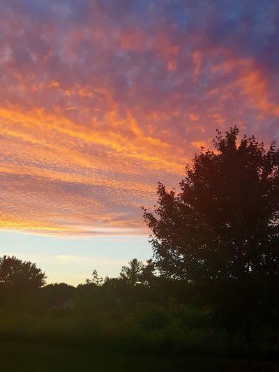 Pure Michigan Mothernature Painted Sky Sunset_collection Sunset Zeeland Michigan Hello World