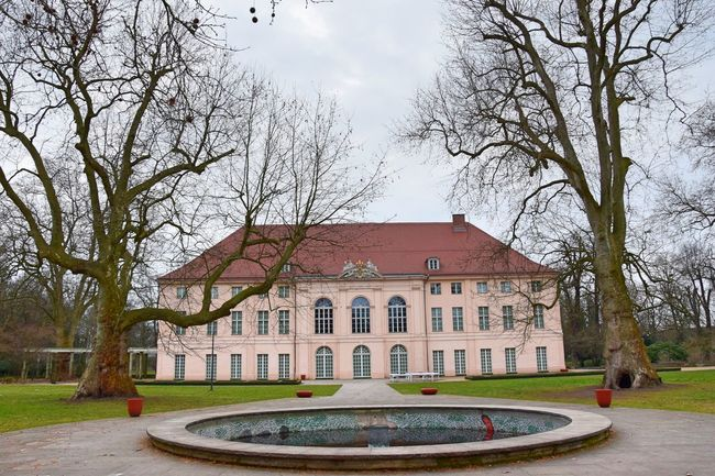 Architecture Bare Tree Building Exterior City Day No People Outdoors Park Residential Building Schloss Schönhausen Sky Tree Well