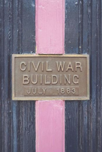 Symmetrical Gettysburg Civilwar