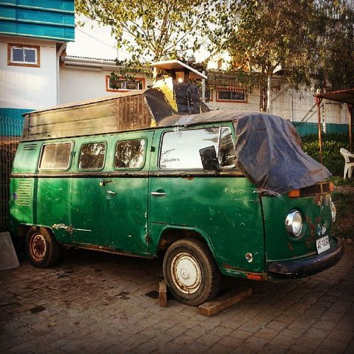 ...new home solution to Volkswagon Combi Overheating in Santiago Chile