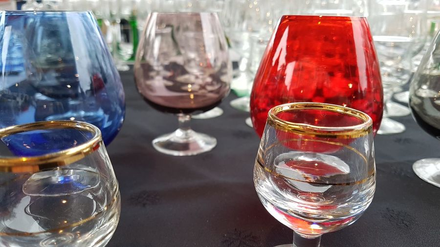 Wineglass Alcohol Drink Shot Glass Wine Drinking Glass Liqueur Cocktail Table Celebration