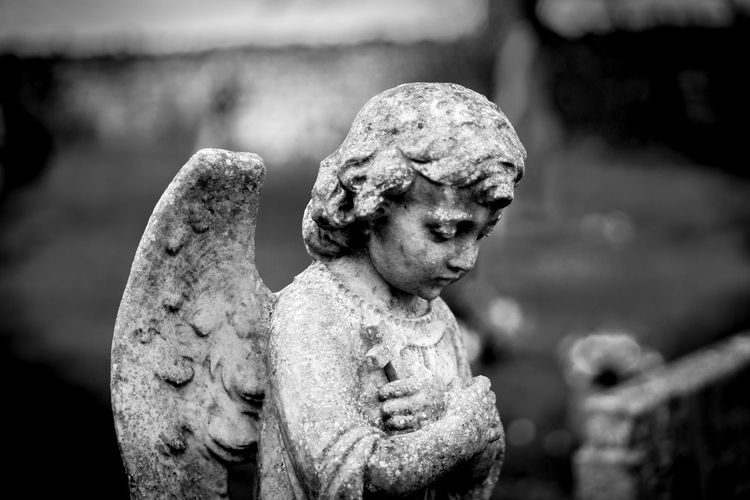 Angel Angel Statue Art Close-up Graveyard No People Sculpture Statue Black And White EyeEmBestPics Blackandwhite EyeEm Best Shots - Black + White History EyeEm Gallery Bnw_society Bnw_demand Bnwmood Bnw Photography Bnw_planet EyeEm Best Edits Bnwlovers Outdoors