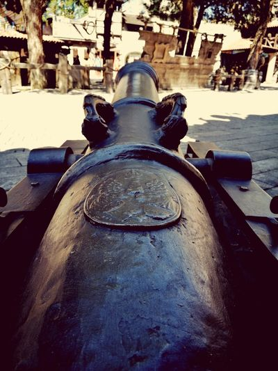 History Weapon Cannon Fort War Ancient Military No People Architecture Outdoors Close-up Bom Live For The Story