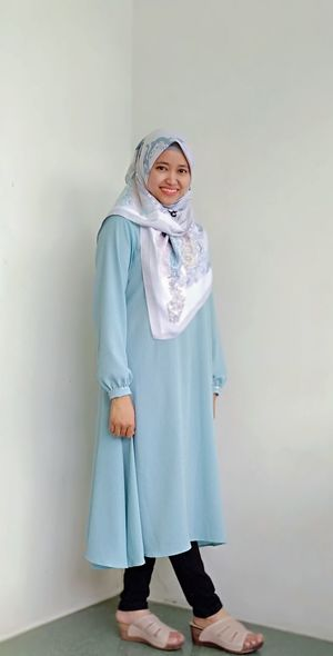 Hijab Muslimahfashion Muslim Muslimah INDONESIA EyeEm Selects Standing Child One Girl Only Girls Children Only Portrait One Person Full Length Representing Day People Cute
