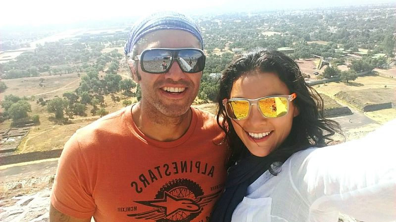 Sunglasses Looking At Camera Pirámides De Teotihuacan Weekend Activities Adventure In Love With Life My Boyfriend And I