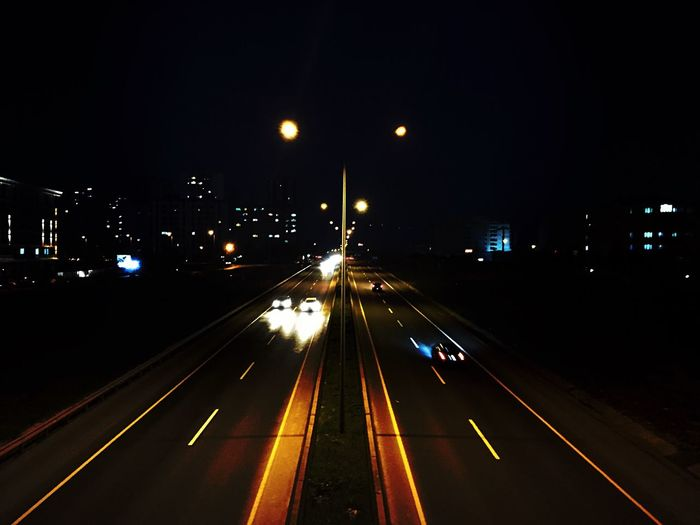 #EyeEmNewHere EyeEmNewHere #city #lights Transportation Road First Eyeem Photo
