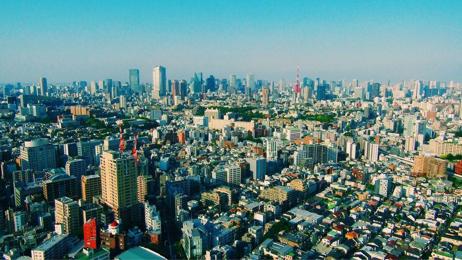 打ち合わせ終わりに見た東京 Tokyo,Japan Tokyo Street Photography cityscapes No Standard World Building Exterior City Architecture Built Structure Cityscape Building Office Building Exterior