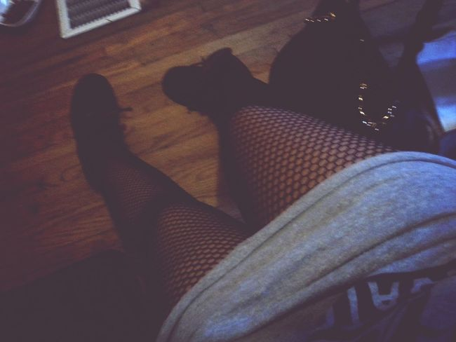 Thick Thighs Fishnets Grunge Personal