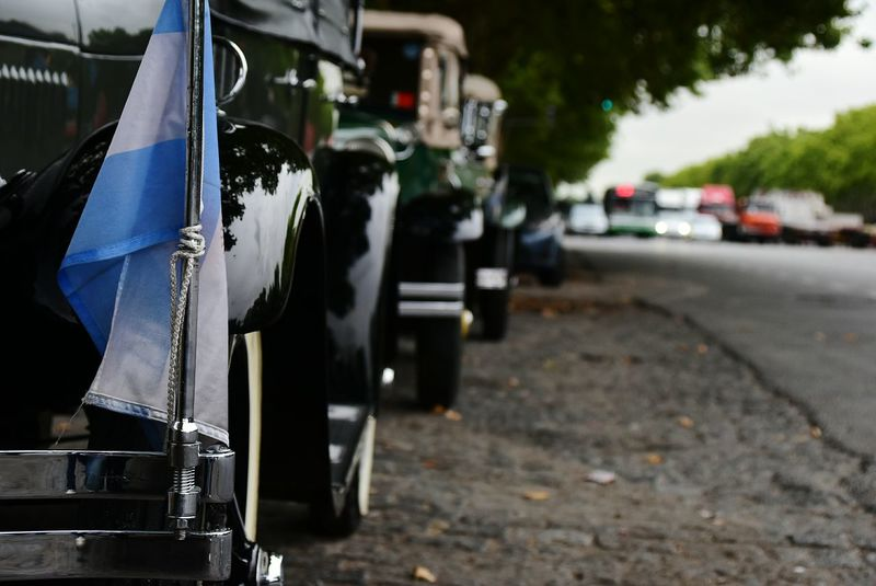 Transportation Mode Of Transport City Outdoors No People Day Vintage Cars 1930s 1930 Vehicles Ford A Chevrolet Transportation History City Life Travel Destinations City Buenos Aires Nikon Film Industry Close-up Ford Vintage