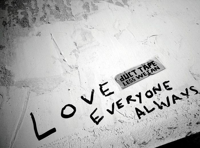 Day 259 - Love always Berlin Blackandwhite Graffiti Love 365project 365florianmski Day259