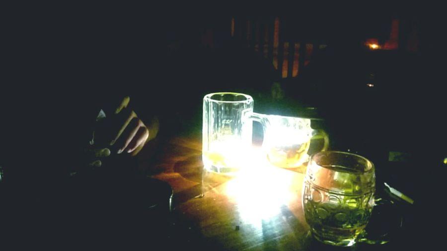 Czech Republic Ládví U Zvonečku Night Lights Glasses